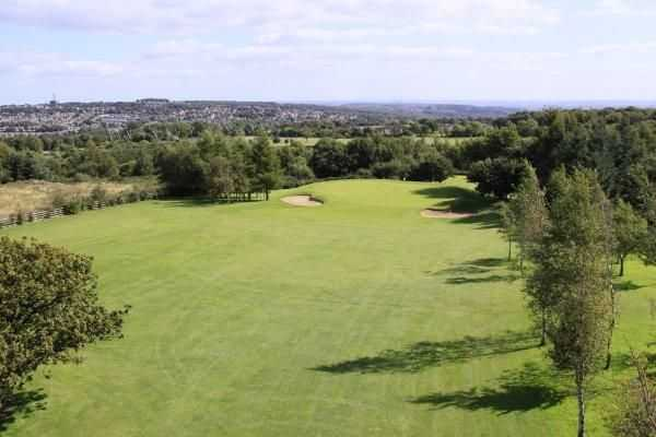 View from Horsforth's 14th hole