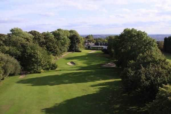 View from Horsforth's 18th hole