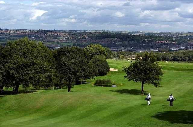 Fantastic views from the undulating fairways at Dewsbury District Golf Club