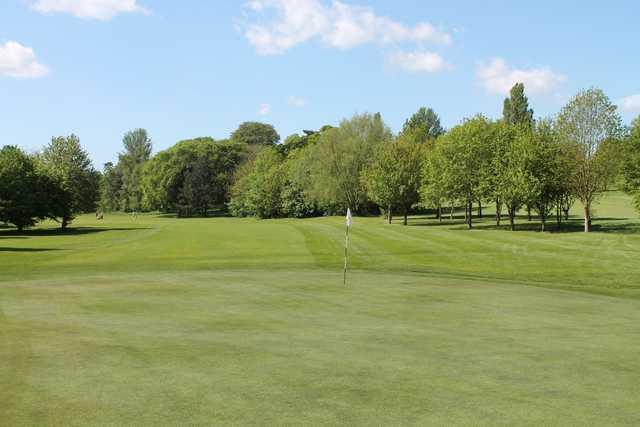 The 9th green at Cobtree Manor