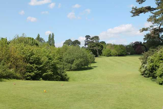 The 16th tee at Cobtree Manor