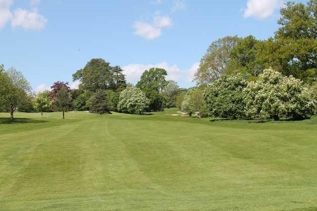 The 14th fairway at Cobtree Manor