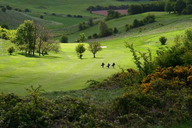 View from Ogbourne Downs GC