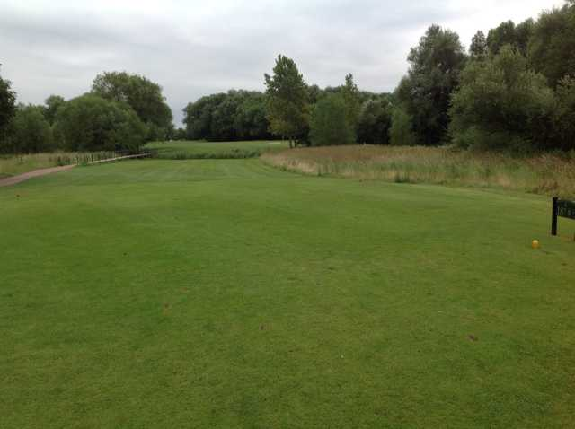 View of the 18th tee at Beedles Lake Golf Club