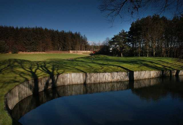 Water hazard to avoid at Deer Park Golf and Country Club