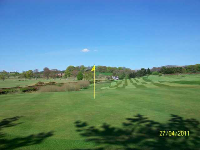 A look back from the green at Thornhill Golf Club