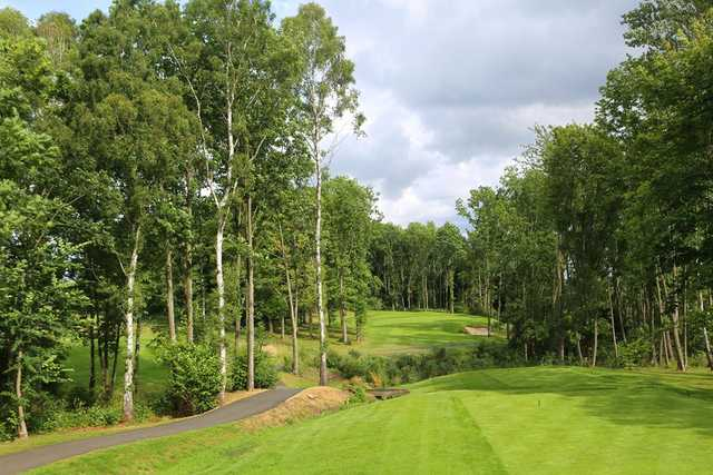 The 14th hole on the Fily Course