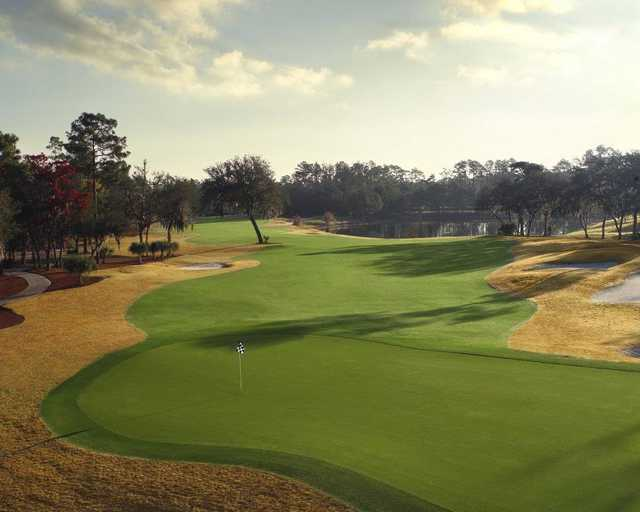 A view of the 15th hole from Legacy Club at Alaqua Lakes