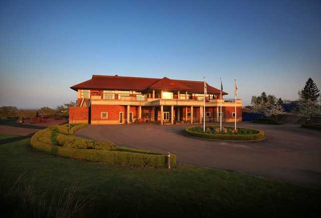 The clubhouse at The Oxfordshire Golf Club