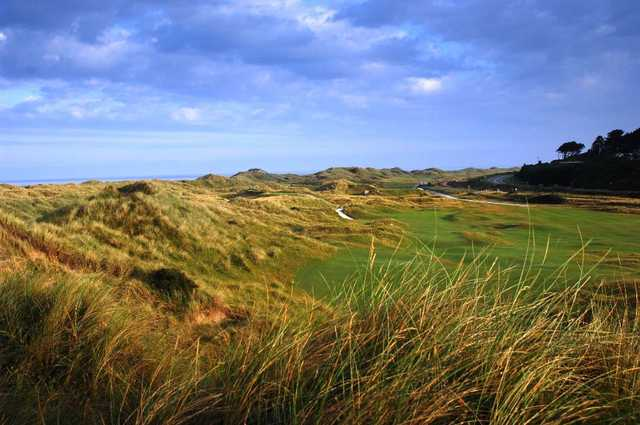 Immaculate fairways and beautiful links landscape