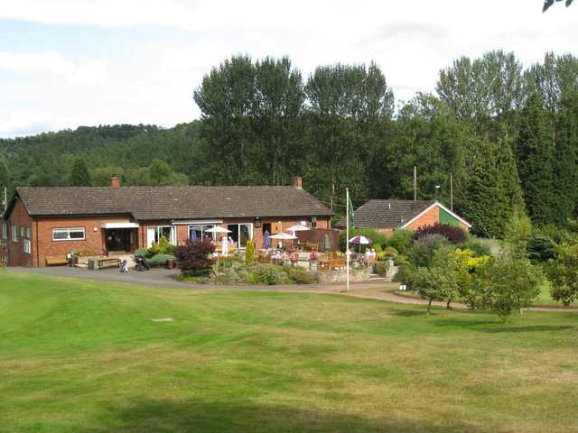 The beautiful clubhouse at Bridgnorth Golf Club