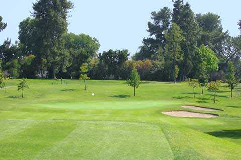 A view of the 7th green at Dad Miller Golf Course