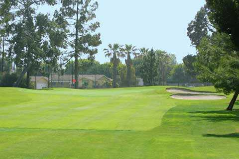 A view of the 9th hole at Dad Miller Golf Course
