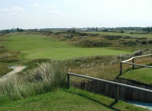 View from Great Yarmouth & Caister GC