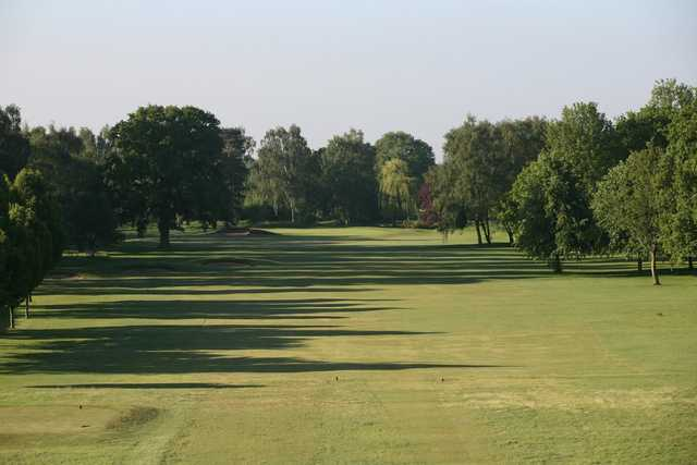 The 1st hole at Fulford Golf Club