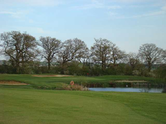 Water on the 9 hole from the Garden course at The Wiltshire