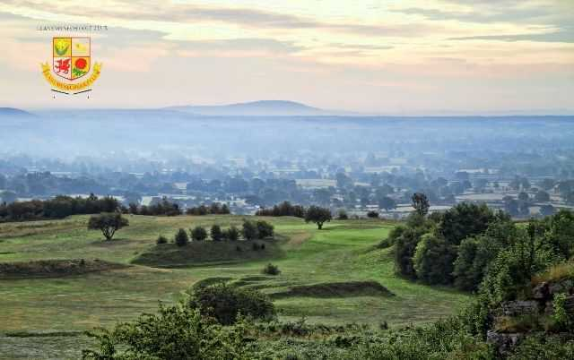 Spectacular views across the Welsh countryside at Llanymynech Golf Club