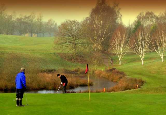 7th at Barlaston GC