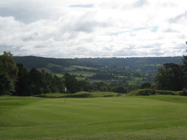 The fantastic views as seen from the Painswick golf course