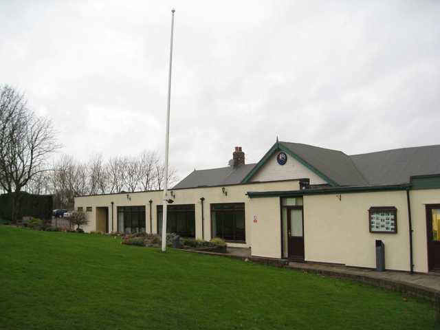 View of the Macclesfield Golf Club, clubhouse