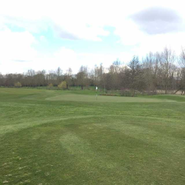 The 15th green at Colne Valley Golf Course