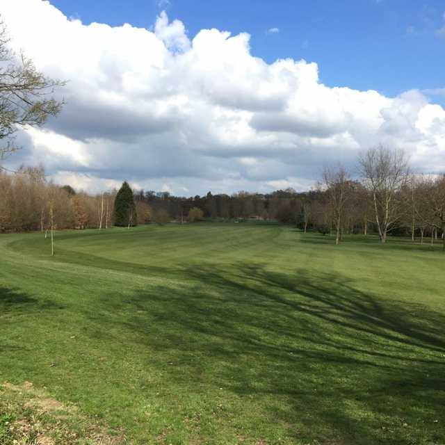 4th fairway at Colne Valley Golf Club