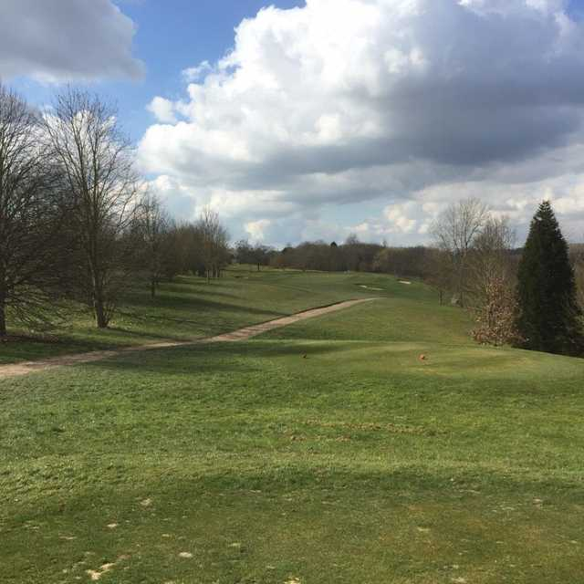 The 6th hole at Colne Valley Golf Club
