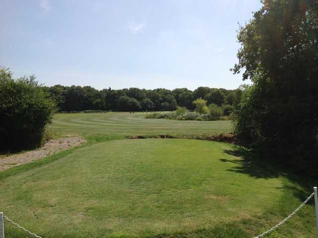 A view from the 6th tee at Foxbridge Golf Club