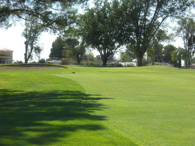 A view of hole #14 at Apple Valley Golf Course