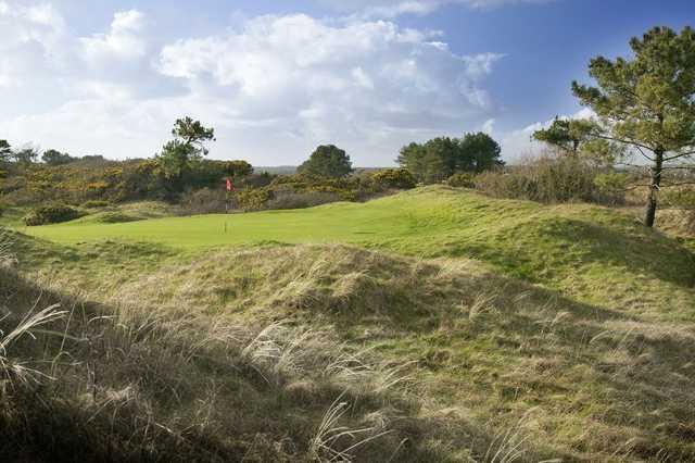 12th green at Ashburnham Golf Club