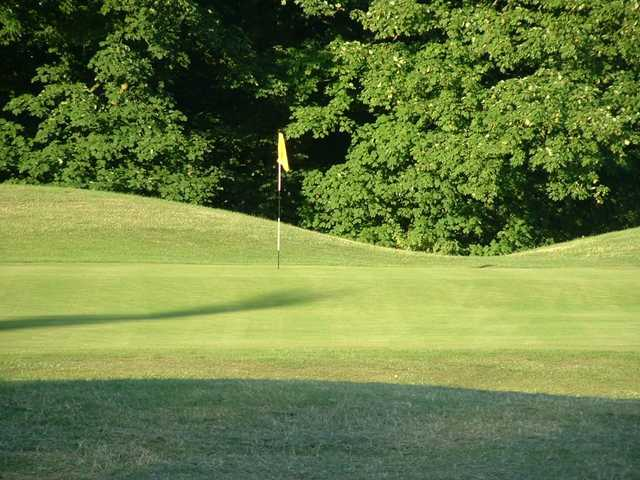 The well maintained greens seen at Aylesbury Vale Golf Club
