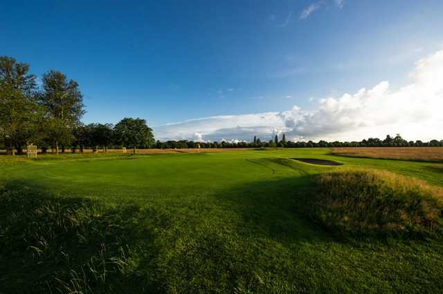 Hampton Court offers a mix of parkland and links golf