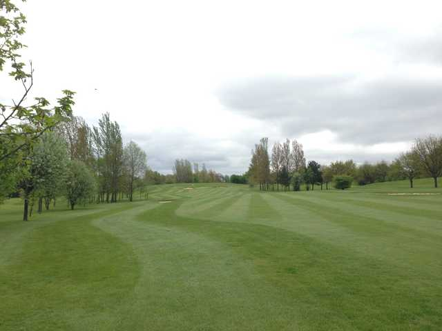The 18th hole at Radlett Park Golf Club