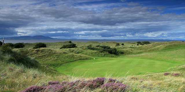 Fantastic views behind the 7th green 'Battery' at Silloth on Solway Golf Club