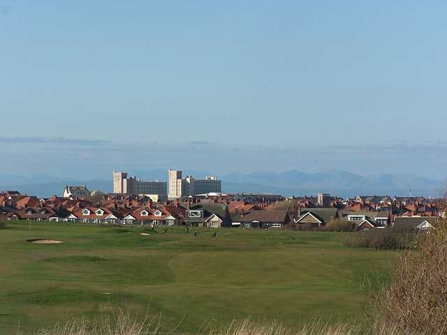 View from Blackpool North Shore Golf Club
