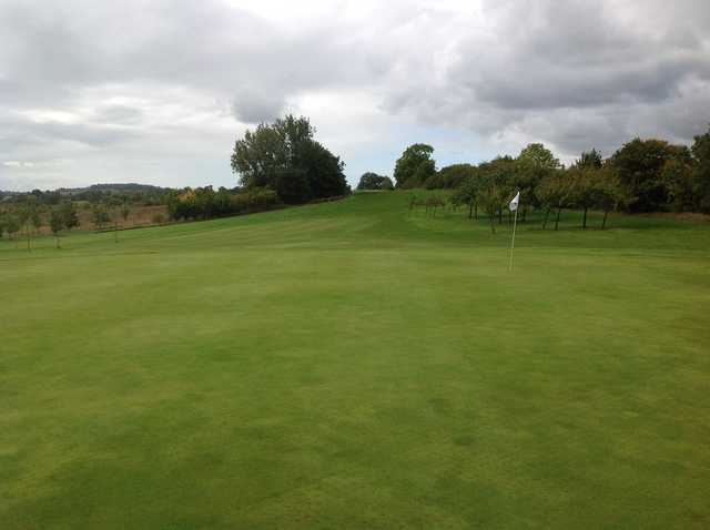 5th green on the Henley Golf Course