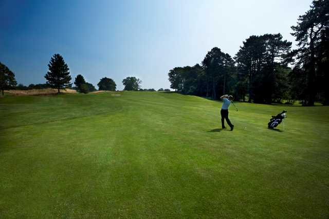 Picturesque shot of the 6th fairway at The Warwickshire Earls Course