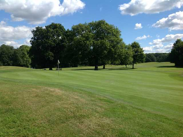 Stunning green at Milford Golf Club