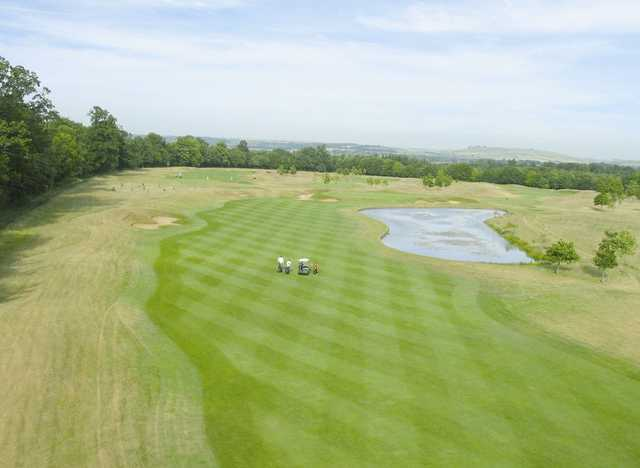 Manicured fairways at PGA Bowood - England