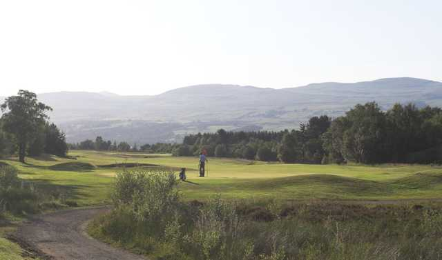 Expansive view of the 17th at Westerwood