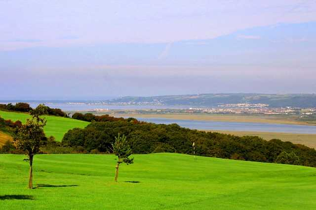 View from Gower GC