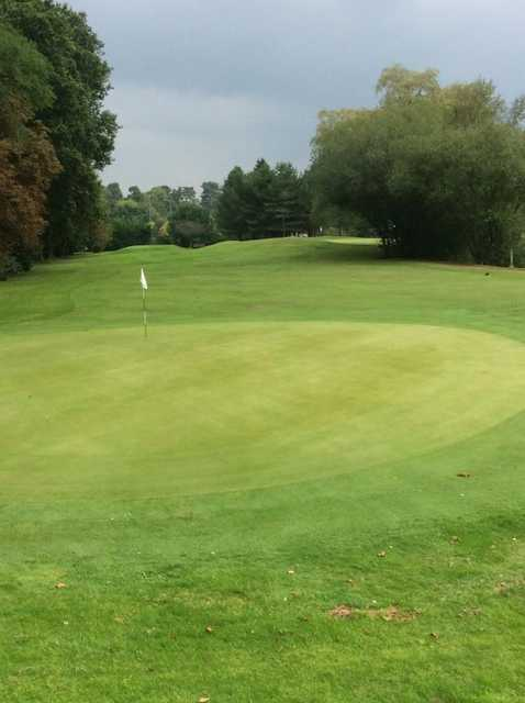 A look back from a green at Effingham Park