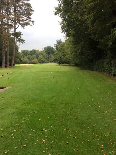 A tight tee shot at Effingham Park