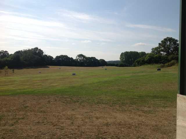 The range at Hamptworth Golf Club