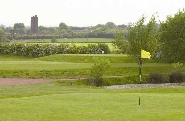 View from Mossock Hall GC