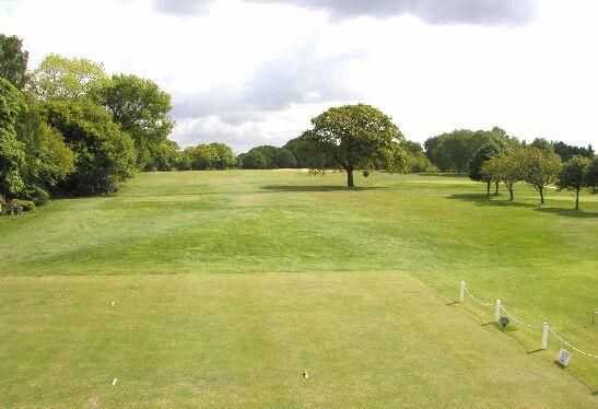 A view from a tee at Ormskirk