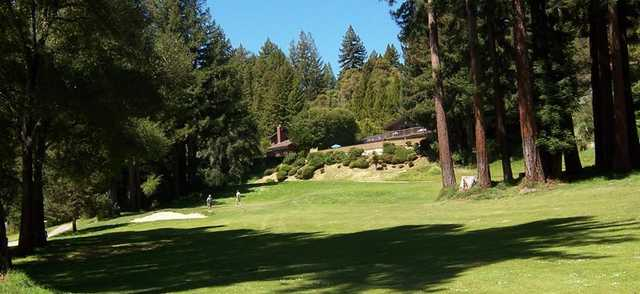 A view from Boulder Creek Golf & Country Club