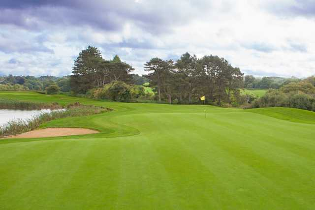 Well kept greens at Surrey National Golf Club