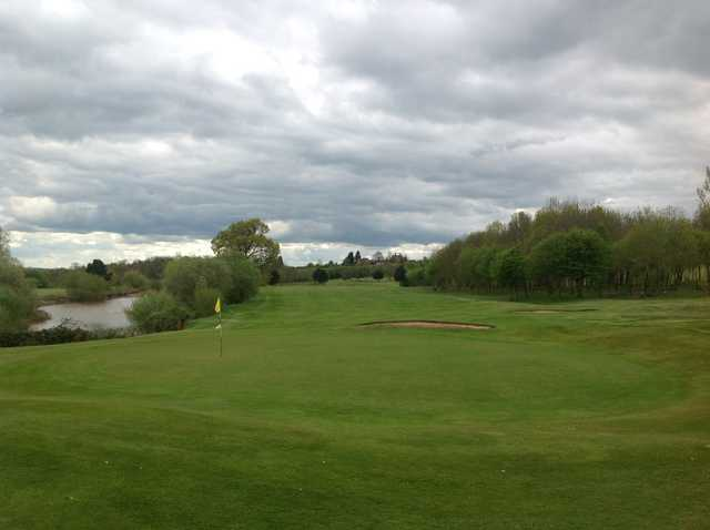 Greenside view from the 18th green at The Stratford Park Hotel & Golf Club