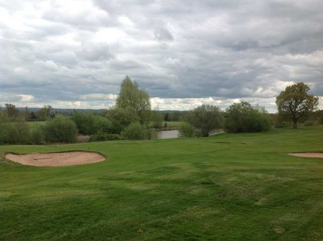 The 18th fairway at The Stratford Park Hotel & Golf Club